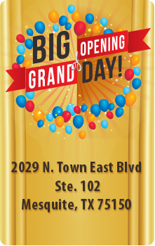 Grand Opening in Mesquite