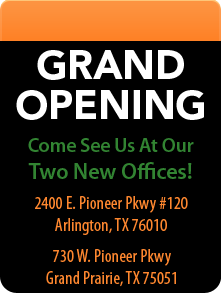 New Offices in Arlington and Grand Prairie