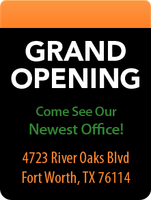 Grand Opening in Fort Worth